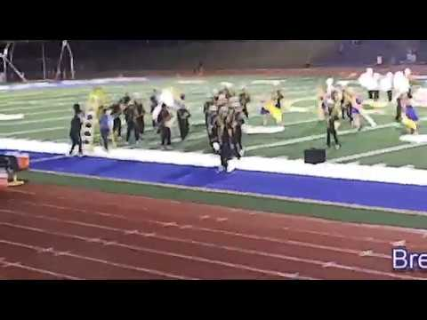 Bremerton High School Knight's marching band 2019 game 2