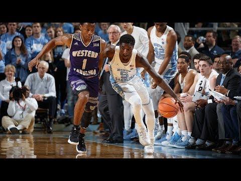 UNC Men's Basketball: Tar Heels Race Past Catamounts, 104-61