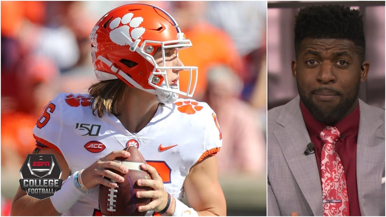 Trevor Lawrence is why Clemson could miss the CFP - Emmanuel Acho | ESPN Championship Drive