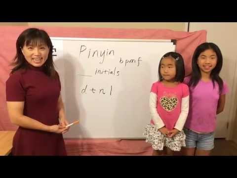 Learn Pinyin – Initials, d, t, n, l
