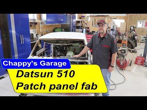 Datsun 510 Patch panel fabrication