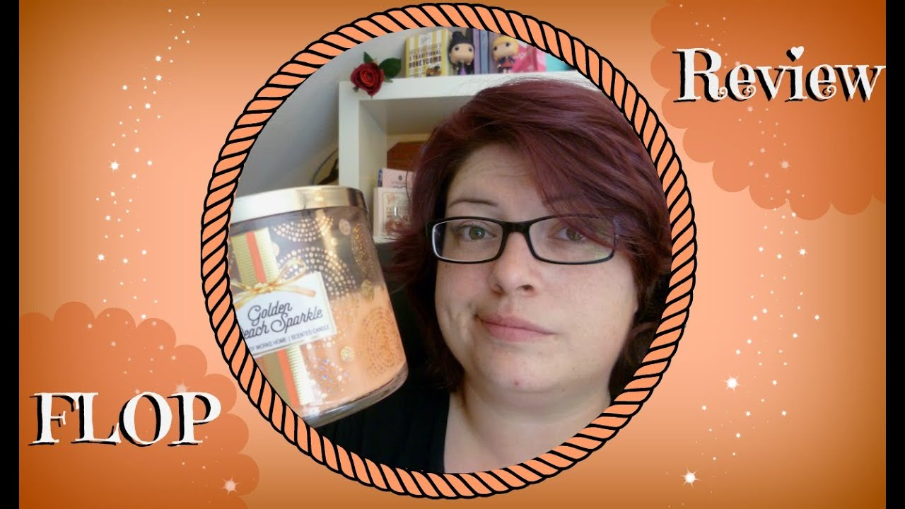 bbw golden peach sparkle *flop review* - youtube