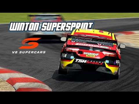 VASC: Winton SuperSprint (V8 Supercar in Automobilista)