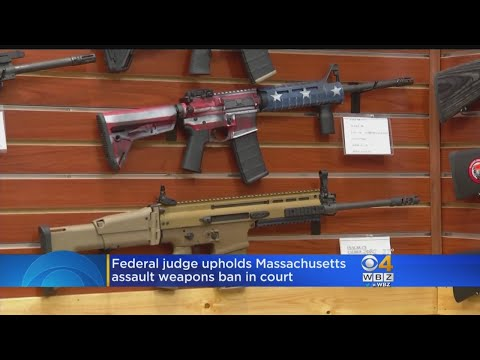 Mass. Assault Weapons Ban Doesn't Violate 2nd Amendment, Judge Rules