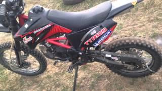 irbis ttr 125 -мой первый мотоцикл(Первый обзор. Не судите строго , это моё первое видео., 2013-12-14T15:49:10.000Z)