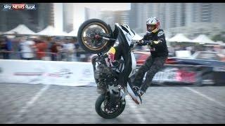 شغف الدرجات النارية في دبي