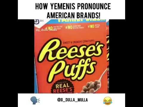 How Yemen's pronounce American brands