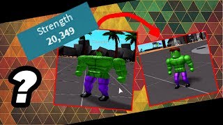 ROBLOX-Weight Lifting Simulator 2 TUTORIAL HOW TO GET TOO STRONG!
