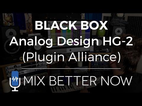 BLACK BOX Analog Design HG-2 (Plugin Alliance) | MixBetterNow.com