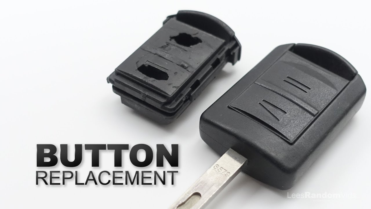 How To Change The Buttons On A Vauxhall Key Fob Opel Car Key