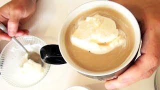 как приготовить классический гляссе (кофе с мороженым) видео рецепт