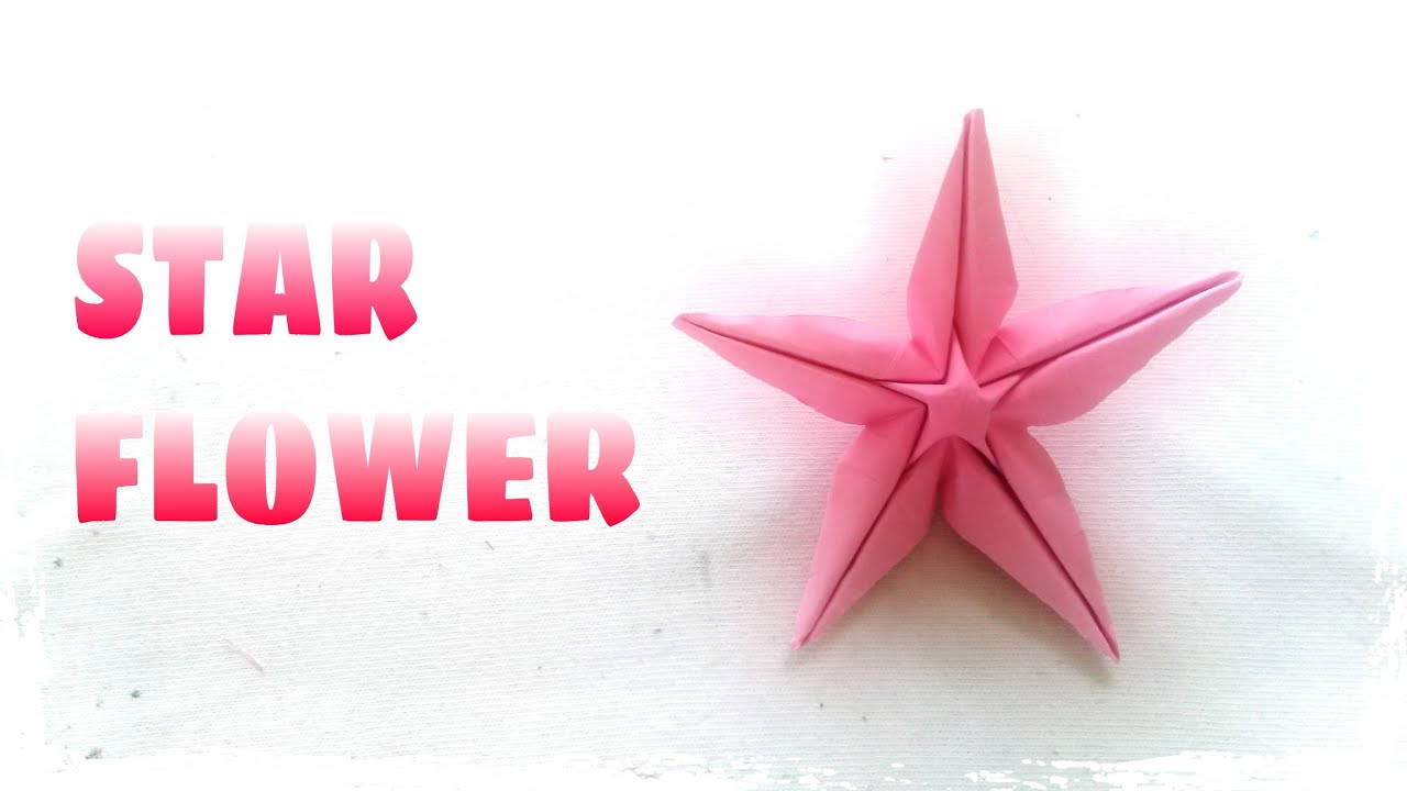 Christmas origami instructions hex star maria sinayskaya youtube - Origami Star Flower Instructions Origami Easy Youtube Salsuba Image Collections