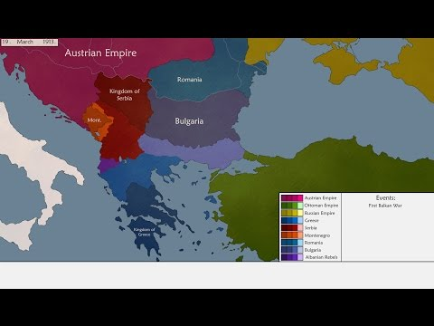 The Liberation of the Balkan peoples from the Ottomans