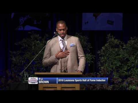 2016 Louisiana Sports Hall of Fame - P.J. Brown