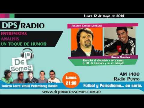 Roman Martinez y Caruso Juntos en DPS Radio