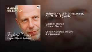 Waltzes: No. 11 in G-Flat Major, Op. 70, No. 1 (posth.)