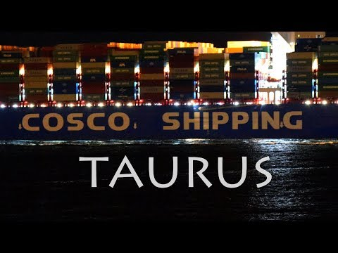 Cosco Shipping TAURUS Largest 20000+ TEU Vessel at Piraeus Port