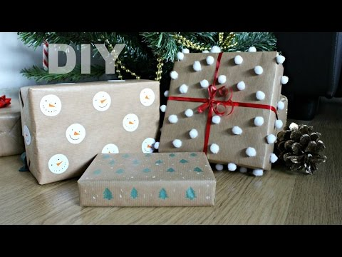 DIY Christmas Wrapping Paper Ideas | Jtru