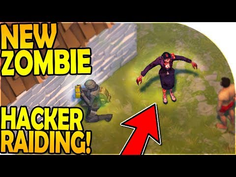 NEW ZOMBIE! - HACKER RAIDING - Last Day On Earth Survival Update 1.8.3