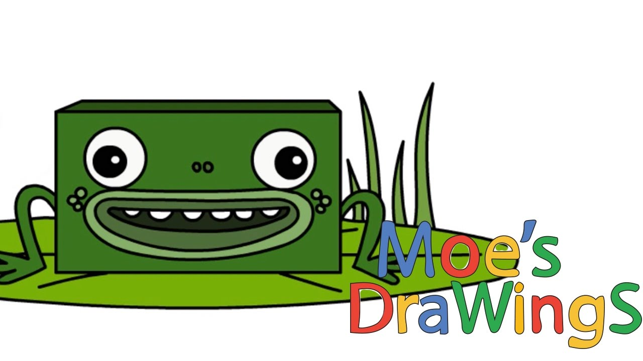 Big Block Singsong Frog How To Draw And Coloring Fun New Hd Video For Kids