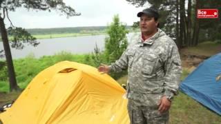 Обзор туристических палаток Нова Тур. Легкие прочные палатки