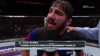 Fight Night Long Island: Jimmie Rivera Octagon Interview