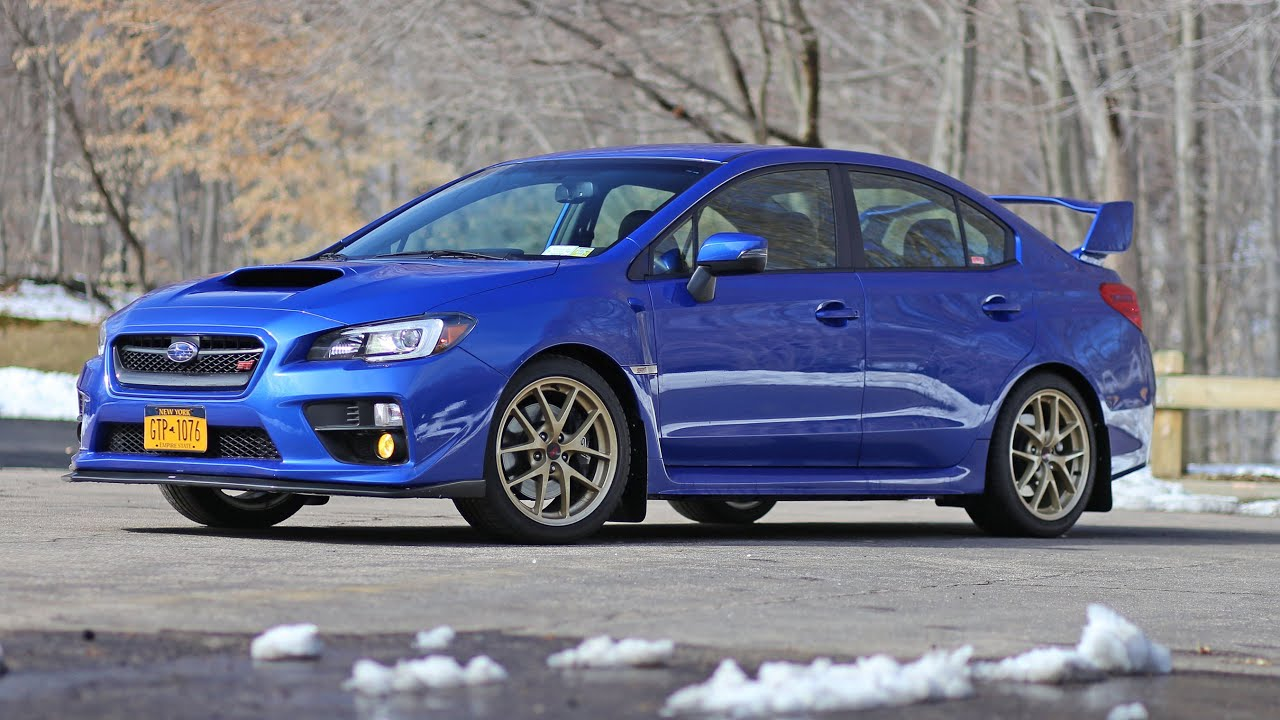 Subaru Wrx Sti Launch Edition >> 2015 Subaru Wrx Sti Launch Edition Review Youtube