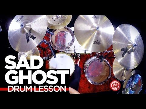Fast Linear Fills  Sad Ghost  Josh Manuel  Drum Lesson
