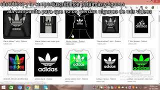 wie man jedes T-Shirt in roblox easy adidas erstellt
