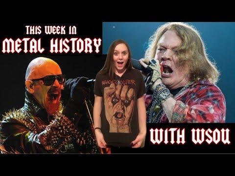 This Week in Metal History, January 14, 2019 with WSOU | MetalSucks