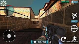 Jogando counter terrorist 2-trigger com sniper rifle ultra
