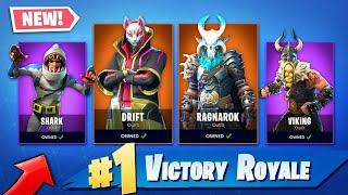 Fortnite//334 Wins// Grinding For Max Dift Skin// Grinding For 400 Wins