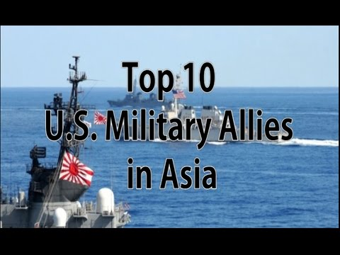 Top 10 US Military Allies in Asia