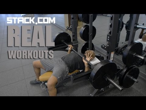Real Workouts:  Tiki Barber