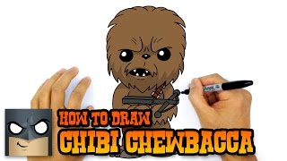 How to Draw Chewbacca | Star Wars