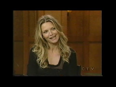 Michelle Pfeiffer on Live with Regis and Kelly 2007