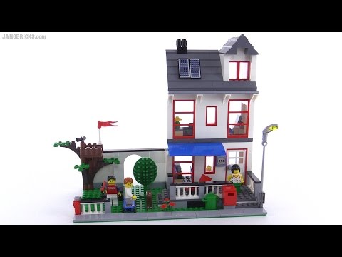 lego city house review set 8403 from 2010 youtube. Black Bedroom Furniture Sets. Home Design Ideas