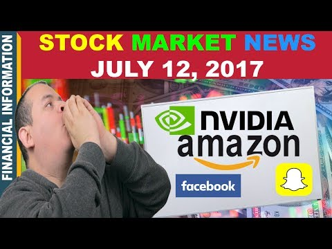 Stock Market News📰 |  Facebook, Nvidia, Amazon, NRG Energy, FANG ETF, Steel Companies |July 12 2017