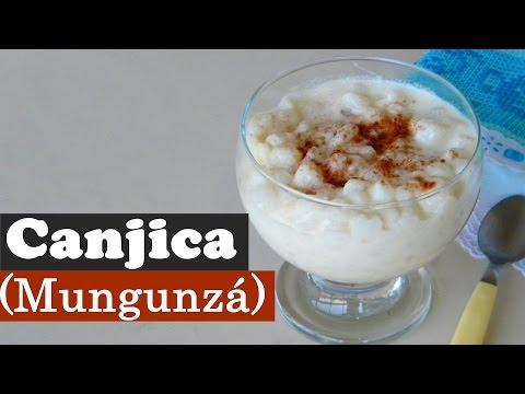 Canjica ou Mungunzá (no Nordeste)