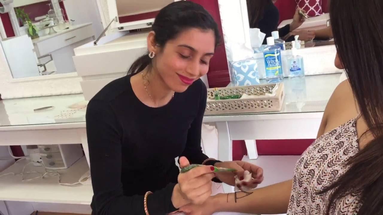San Diego Eyebrow Threading & Henna Tattoos - YouTube ...