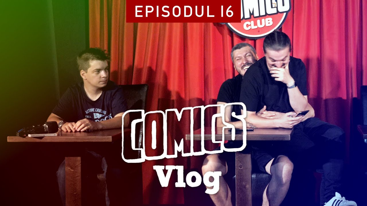 Concurs de cultură generală între comedianți   Comics VLOG #16