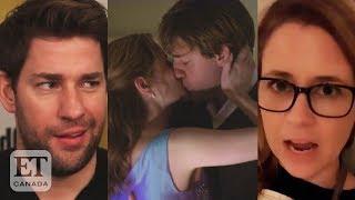 John Krasinski, Jenna Fischer On 'The Office' Kiss Debate