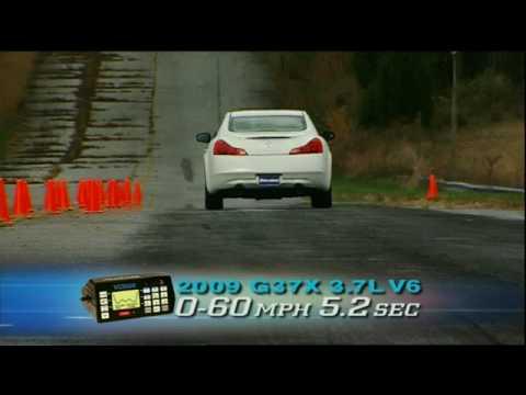 MotorWeek Road Test: 2009 Infiniti G37x