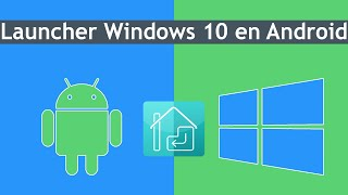 Como Tener Windows 10 En Android | Launcher No ROOT |Apariencia |  2017