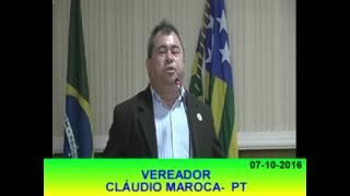 Pronunciamento Claudio Maroca 07 10 16