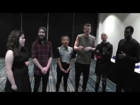 The Pentatonix singing Light in the Hallway Feat. Lauren Loisel on May/11/2016 in Raleigh