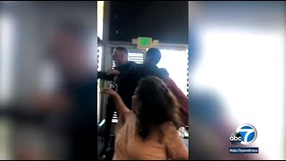 Mother's Day melee: Man's racist rant caught on camera at Long Beach sushi restaurant | ABC7