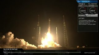 SpaceX launches Block 5 version Falcon 9 rocket