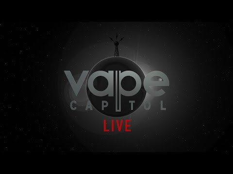 VC Live 9-20-16 talking with Vape Menu, showing the Future of buying Liquids in a Vape Shop..