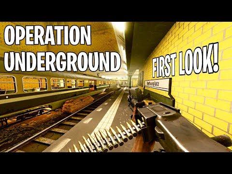 Operation Underground FIRST LOOK! - Battlefield 5 NEW Metro Map Gameplay